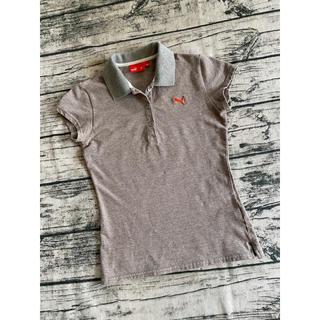 プーマ(PUMA)のPUMA ポロシャツ オレンジライン S(ポロシャツ)