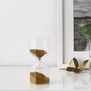 イケア(IKEA)の【2個】イケア 金の砂 砂時計 モーツァルト プレート 絵皿(その他)