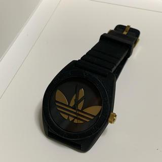 アディダス(adidas)のadidas 腕時計 黒金(腕時計(アナログ))