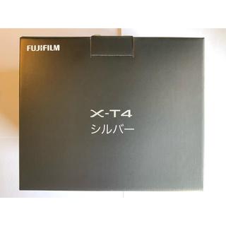 富士フイルム - 富士フイルム FUJIFILM X-T4 シルバー 新品同様