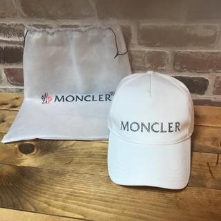 モンクレール(MONCLER)のモンクレール☆モンクレ☆キャップ☆新品☆正規(キャップ)