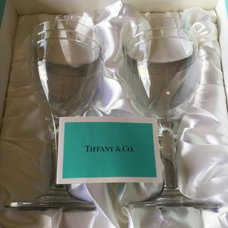 Tiffany & Co. - ティファニー ワイングラスペア