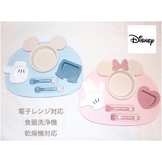 Disney - 日本製 Disney ランチプレート Mickey or Minnie 出産祝い