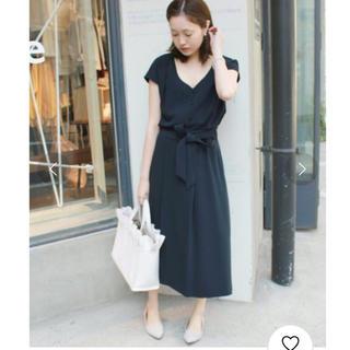IENA SLOBE - 【新品タグ付】2Way ブラウス×リボンスカート セットアップ サイズ36