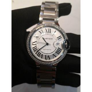 Cartier - カルティエ 自動巻き 腕時計 メンズ ダイヤ