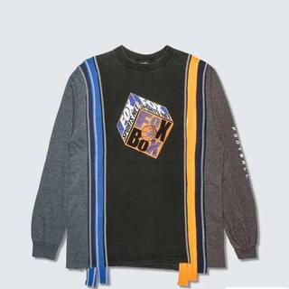 Needles - NEEDLES 7 カット カレッジ 長袖Tシャツ