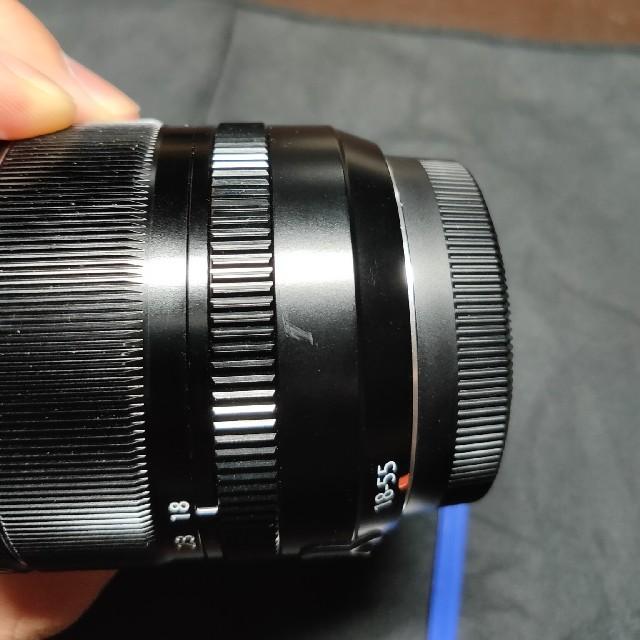 富士フイルム(フジフイルム)の美品 FUJIFILM xf18-55 f2.8-4 R MN OIS スマホ/家電/カメラのカメラ(レンズ(ズーム))の商品写真