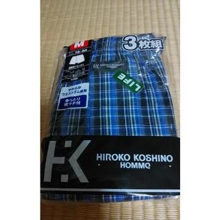 ヒロココシノ(HIROKO KOSHINO)のメンズ トランクス M 綿100 2枚組(トランクス)