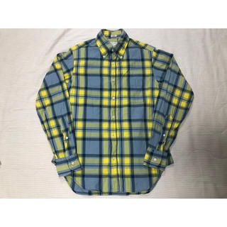 インディヴィジュアライズドシャツ(INDIVIDUALIZED SHIRTS)の美品 UA購入 インディビジュアライズドシャツ チェック ボタンダウン シャツ(シャツ)