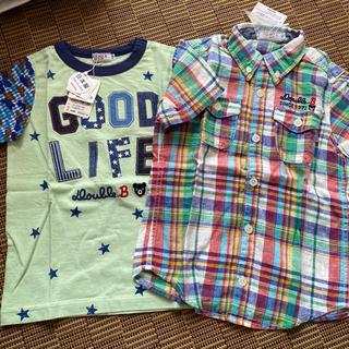 DOUBLE.B - ダブルビー Tシャツ シャツ 半袖二枚セット