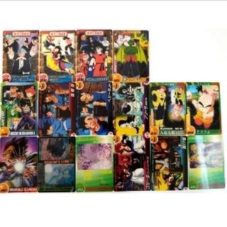 ドラゴンボール - ドラゴンボール 森永 ウエファー チョコ カード 16枚 ウエハース