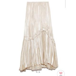 snidel - 新品 シャイニープリーツスカート