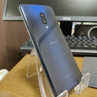 アクオス(AQUOS)のAQUOS Zero2 8/256GB SIMフリー 美品 ブラック おまけ付き(スマートフォン本体)