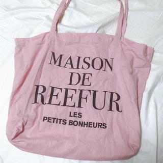 メゾンドリーファー(Maison de Reefur)のメゾンドリーファー ショップバッグ ピンク(ショップ袋)