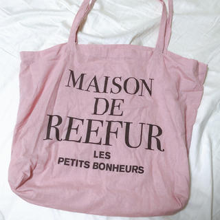 Maison de Reefur - メゾンドリーファー ショップバッグ ピンク