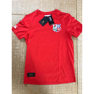 カンタベリー(CANTERBURY)のカンタベリー 赤Tシャツ(Tシャツ/カットソー(半袖/袖なし))