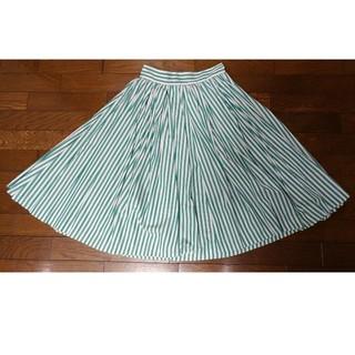 Chesty - GINGER ALE☆グリーンストライプスカート