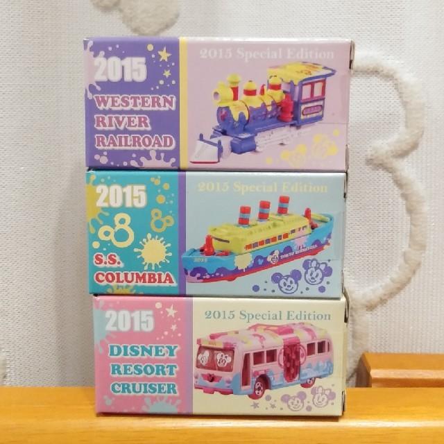 Disney(ディズニー)のディズニートミカ☆2015スペシャルエディション3台セット エンタメ/ホビーのおもちゃ/ぬいぐるみ(ミニカー)の商品写真