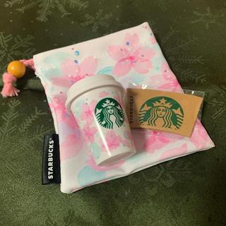 スターバックスコーヒー(Starbucks Coffee)の【チケット付】STARBUCKS SAKURA ミニタンブラーギフト(フード/ドリンク券)