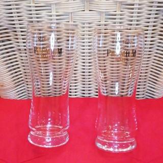 サントリー(サントリー)のサントリープレミアムモルツ ビールグラス2客グラスホルダー付き(グラス/カップ)