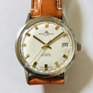 ボームエメルシエ(BAUME&MERCIER)のBAUME&MERCIER ボーム&メルシエ ジュネーブ 17石手巻き OH済(腕時計(アナログ))