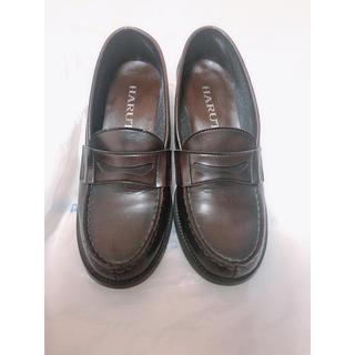 ハルタ(HARUTA)のハルタ ローファー 茶色(ローファー/革靴)
