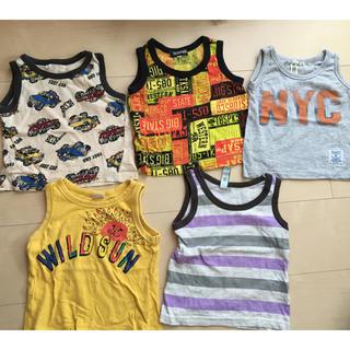 マーキーズ(MARKEY'S)の子ども男の子服まとめ売り ランニング MARKEY'Sなど 80センチ(Tシャツ)