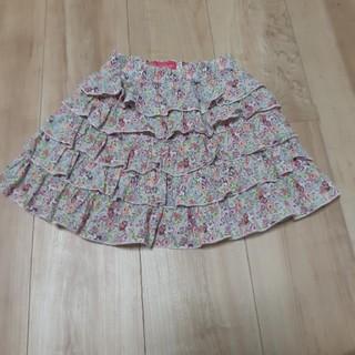 ディズニー(Disney)のミニーちゃん110   5段フリルスカート(スカート)