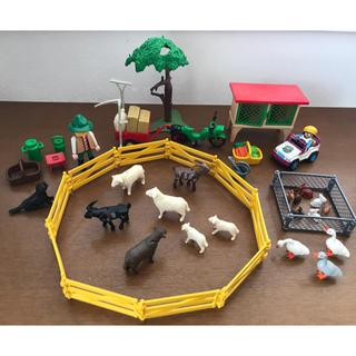 Lego - プレイモービル 2000年イースターエッグ 3078 農家 ウサギ小屋 3075