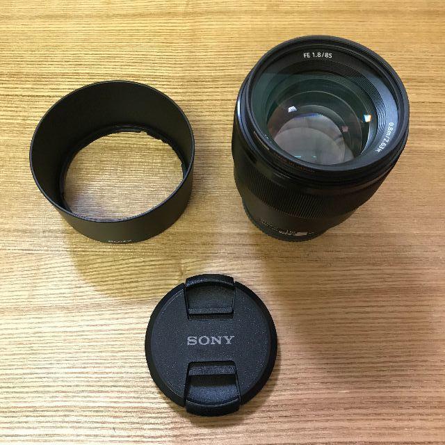 SONY(ソニー)のSONY FE 85mm F1.8 SEL85F18 スマホ/家電/カメラのカメラ(レンズ(単焦点))の商品写真