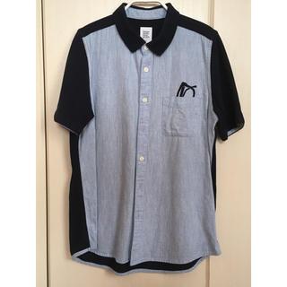 グラニフ(Design Tshirts Store graniph)の半袖シャツ グラニフ ポケット付きシャツ メガネ刺繍(シャツ/ブラウス(長袖/七分))