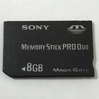PSP メモリカード 8GB