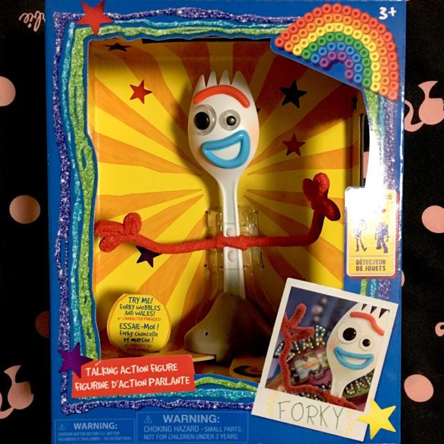 Disney(ディズニー)の新品❤フォーキー トイストーリー❤トーキングフィギュア❤ダッフィー/ボーピープ エンタメ/ホビーのおもちゃ/ぬいぐるみ(キャラクターグッズ)の商品写真