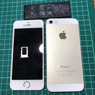 アップル(Apple)のiPhone5s (ジャンク)(スマートフォン本体)