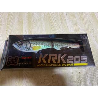 KRK205  KAESUライキリ strikeオリカラ ラージマウスバスDRT(ルアー用品)
