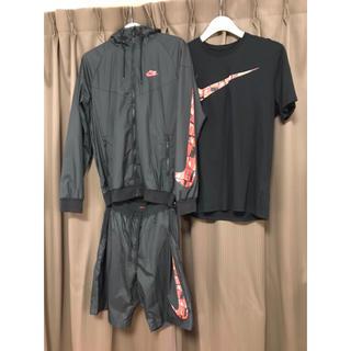 NIKE - NIKE ナイロンジャケット パンツ Tシャツ 3点セット