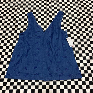 サンリオ - キティジャンパースカート