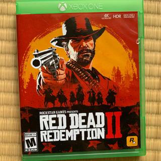 エックスボックス(Xbox)のレッド・デッド・リデンプション 2 XBOX ONE(家庭用ゲームソフト)
