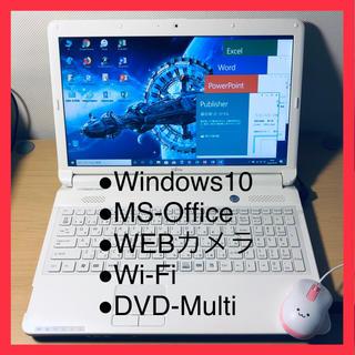 A24-テレワーク富士通■Win10+MSOffice+WiFi+DVD(ノートPC)