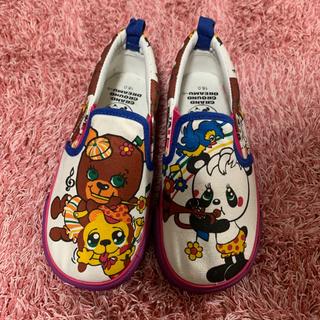 靴、キッズ 18cm 【未使用】(スリッポン)