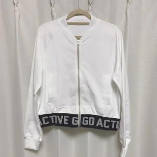 ジーユー(GU)のGUジャケット 白 ホワイト(その他)