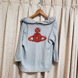 ヴィヴィアンウエストウッド(Vivienne Westwood)のVivienne Westwood redlabel 変形パーカー(パーカー)