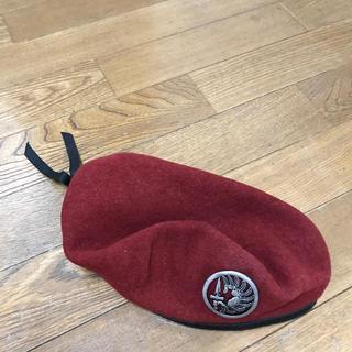 フランスみやげ ヴィンテージものベレー帽(ハンチング/ベレー帽)