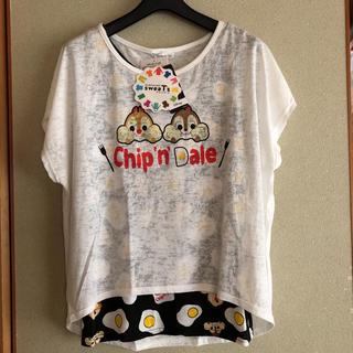 シマムラ(しまむら)のチップとデール トップス2点セット(タンクトップ)