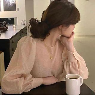 ZARA - ♡  see-through blouse ♡