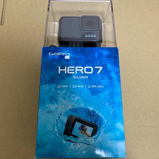 ゴープロ(GoPro)のGoPro HERO7 SILVER 新品 未開封(ビデオカメラ)