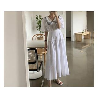 dholic - 韓国fashion*レトロ襟 ワンピース 069