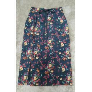 Mila Owen - 【★売り切り★】【★超美品★】花柄ミディタイトスカート(ミラ・オーウェン)