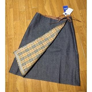 バーバリーブルーレーベル(BURBERRY BLUE LABEL)のBURBERRY BLUE LABELバーバリーブルーレーベル スカート 未使用(ひざ丈スカート)