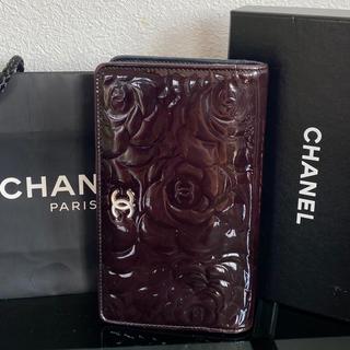 CHANEL - シャネル CHANEL カメリア二つ折り財布